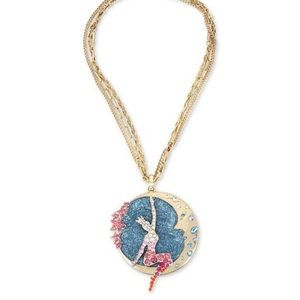 NWT Betsey Johnson Moon Necklace